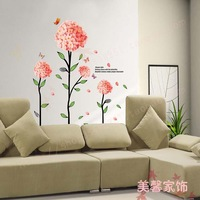 Verbena wall decal wall stickers 60*90cm 2 set