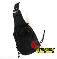Cordura Combination backpack Outdoor Sport Travelling shoulder Bag Black