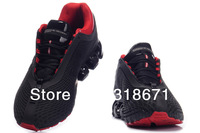 Мужские кроссовки 2012 Europe brand new men genuine leather running shoes 911 Fourth generation sports Spring shoes big s