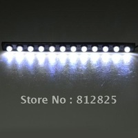 Free shipping+ 1set G0067 3M Straight stick type daytime running light 6W 12LED car Light Input 12V 520 Lumens waterproof IP65