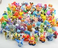 freeshipping 144pcs  Pokemon pikachu Action Figures 2-3cm to worldwide robot toys