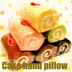 Packaging 6 cake hand rest egg rolls mouse pad of bread wrist length pad material memory foam(China (Mainland))