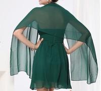 Free Shipping 1pc Fashion Chiffon Dress Shawl/Scarf Bridal Wraps Multi-colors 150cm Long 45cm Wide for Women in Stock