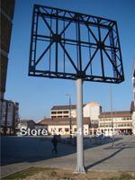 Street advertising LED screen board