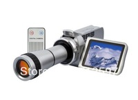 720P Digital Video Camcorder with Optical Telescope Zoom Lens