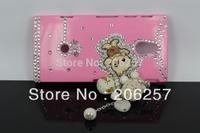 The DIY Bear Pendants paste drilling case for Sony Ericsson LT22i