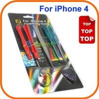 200set/lot   7 in 1 Repair Opening Tools Screwdriver Fix Kit for iPhone 4 ,4S