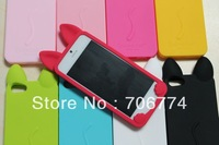 200pcs/lot Lovely Cute Soft Koko Cat Case Soft Silicon Koko Cover Silicon Cat Case for iPhone 5/5G