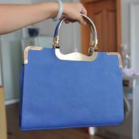 Free shipping autumn and winter women's handbag fashion quoined handbag messenger bag women's briefcase