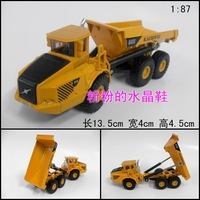 Bulimic dump truck engineering car 7 full alloy dump