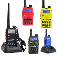 BaoFeng UV-5R Dual Band Walkie Talkie 5W  136-174Mhz & 400-480Mhz Two Way Radio free earphone  A0850A Alishow