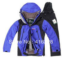 Children's Emergency suit wind rain and warm ski Suit hiking clothing outdoor wear free shipping AS838