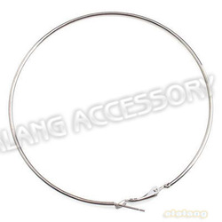 Wholesale Price Item 45pcs/lot Iron Earring Wires Gun Black Plated 79mm Earring Hoops Fit Dangle Earring Making 160037(China (Mainland))