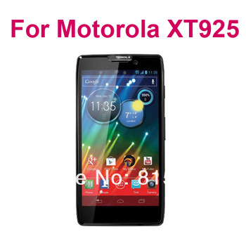 Anti-glare clear Screen Protector for Motorola Droid RAZR HD XT925,With Retail Package+10pcs/lot,free shipping