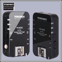 Yongnuo YN-622C, Wireless ETTL HSS 1/8000S Flash Trigger 2 Transceivers  for Canon 1100D 1000D 650D 600D 550D 7D 5DII 40D 50D