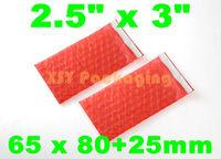 "GREAT BULK PRICE 100 ANTI Static Bubble Bags *Self Sealing* 2.5"" x 3""_65 x 80+25mm FREE SHIPPING"
