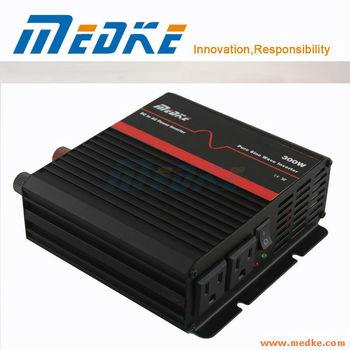 Off Grid Solar Inverter 300W/600W Pure Sine Wave Inverter, DC-AC Power Inverter