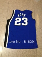 New style Basketball jerseys jersey Memphis Tigers #23 ROSE 23 Blue color home