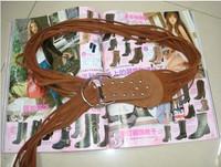 Free delivery vivi tassel rivet belt hot all-match