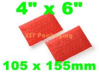 """100 ANTI STATIC Bubble Envelopes Wrap Bags 4"""" x 6""""_105 x 155mm FREE SHIPPING"""