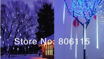 30CM  Tube 160 LED White Mini Snowfall Meteor LED Lights Wedding Outdoor,LED Meteor light