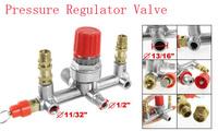 "Free shipping  Air Compressor 13/16"" 1/2"" Male Thread Diameter Pressure Regulator Valve"