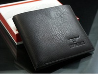 Free shipping2012 new stylish Men wallet+ genuine cow Leather +Pockets RFID Card Clutch Cente Bifold Purse ,dropshipping MSW14
