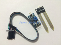5PCS/LOT FREE SHIPPINGSoil moisture meter testing module, soil humidity sensor, robot/intelligent car for Arduino