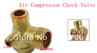 Air Compressor Replacement Parts Male Threaded Brass Check Valve
