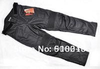 Free shipping 1pcs/Lot Duhan leather pants Motor,Motocross,racing,motorcycle,motorbike,cycling,biker leather pants