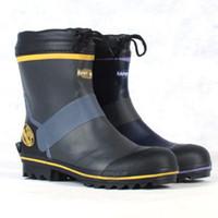 Fashion men super band steel head men's rain boots water shoes rainboots rain shoes safety boots