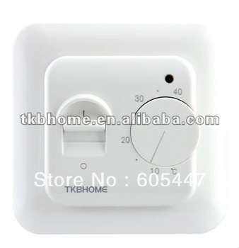 Electronic thermostat for mounting in standard wall box TKB70.36