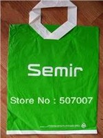 Plastic bags with handle wholesale,Free custom LOGO design,30*40cm shopping bags.garment  bag