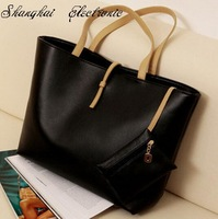 Hot sale 2012 candy color trend vintage messenger bag women's handbag leather shoulder bags free shipping