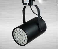 18w 85-264v led track light clothes shop decoration light  energy saving and high brightness light   shipping