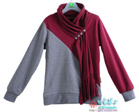 Boys clothing autumn 2013 sweatshirt gentleman paragraph t-shirt sweatshirt 70838