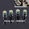 4pcs New Car Tire Pressure Monitor Valve Stem Cap Sensor  Indicator Eye Alert Free Shippping
