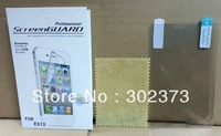 Anti-glare Screen Protector For LG E612 Optimus L5 LCD Screen With Retail Package+50pcs/lot+free shipping