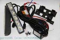 universal daytime running lights car LED DRL 5 LED