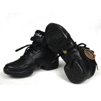 New lady's modern dance shoes/heighten dance shoes(black)