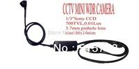 "New Super Mini 700 TVL High Resolution 1/3"" Sony CCD Security Hidden Mini Camera OSD WDR Free Shipping"