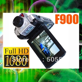 "Full HD 1920 X 1080P Car DVR F900LHD Auto Video Recorder 2.5"" TFT LCD FL Night vision Registrar Car black box with HDMI F900"