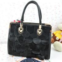 Free shipping 2012 female handbag elegant formal spilliness horse bag handbag cross-body lady's bags
