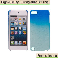 New 3D Crystal Raindrop Hard Slim Case Cover For Apple iPod Touch 5 5th Gen Free Shipping UPS DHL CPAM HKPAM BF-60