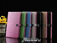 Luxury Bling Diamond  Pattern Leather Case Cover For iPad Mini