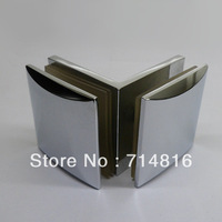 90 degree glass to glass clamp. shower door clamp,brass chrome glass clip,shower hinge