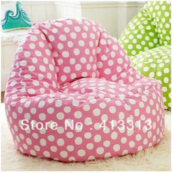 Free Shipping living room relaxing sofa seat ,european style beanbag chair, polka dots beanbag, circle dot bean bags(China (Mainland))