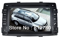 """2Din All in one 7""""Car DVD Player GPS For Kia Sorento with TV Ipod RDS Radio Bluetooth Auto Stereo Free shipping"""