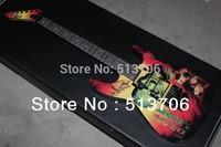Free Shipping Kirk Hammett Metallic  KH2 M-II Mummy Karloff Tlmummy Electric Guitar Wholesale