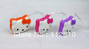 New Hello Kitty card reader speaker cartoon Hello Kitty stereo radio, best gift for kids retail wholesale